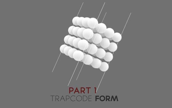 آموزش Trapcode Form پارت 1