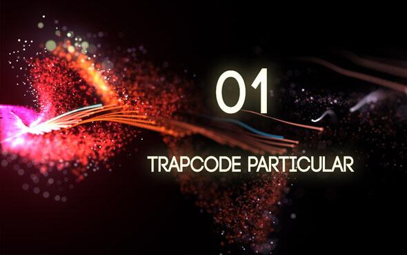 آموزش Trapcode Particular قسمت 1