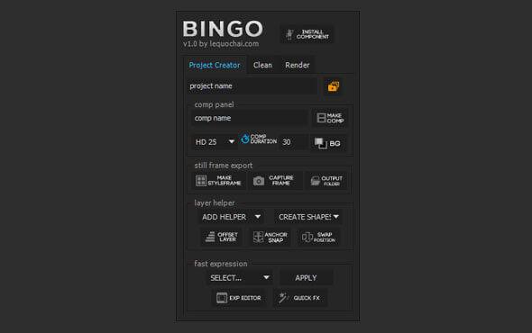 معرفی اسکریپت رایگان Bingo
