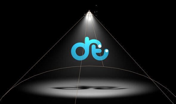 نمایش لوگو در نور موضعی