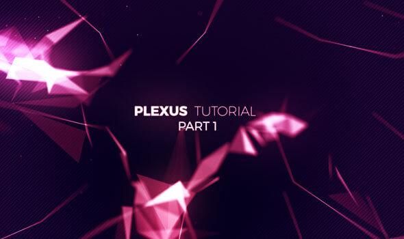 تارهای فضایی با پلاگین Plexus قسمت اول