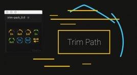 آموزش Trim Path و اسکریپت Trim Pack